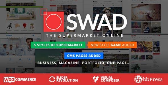 20 - Responsive Supermarket Online Theme - Oswad