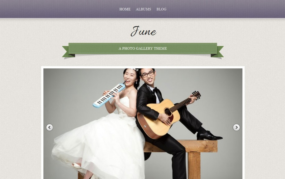 21 - June Free Portfolio WordPress Theme