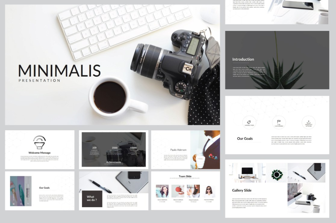 21 - Minimalis Multipurpose PowerPoint Template