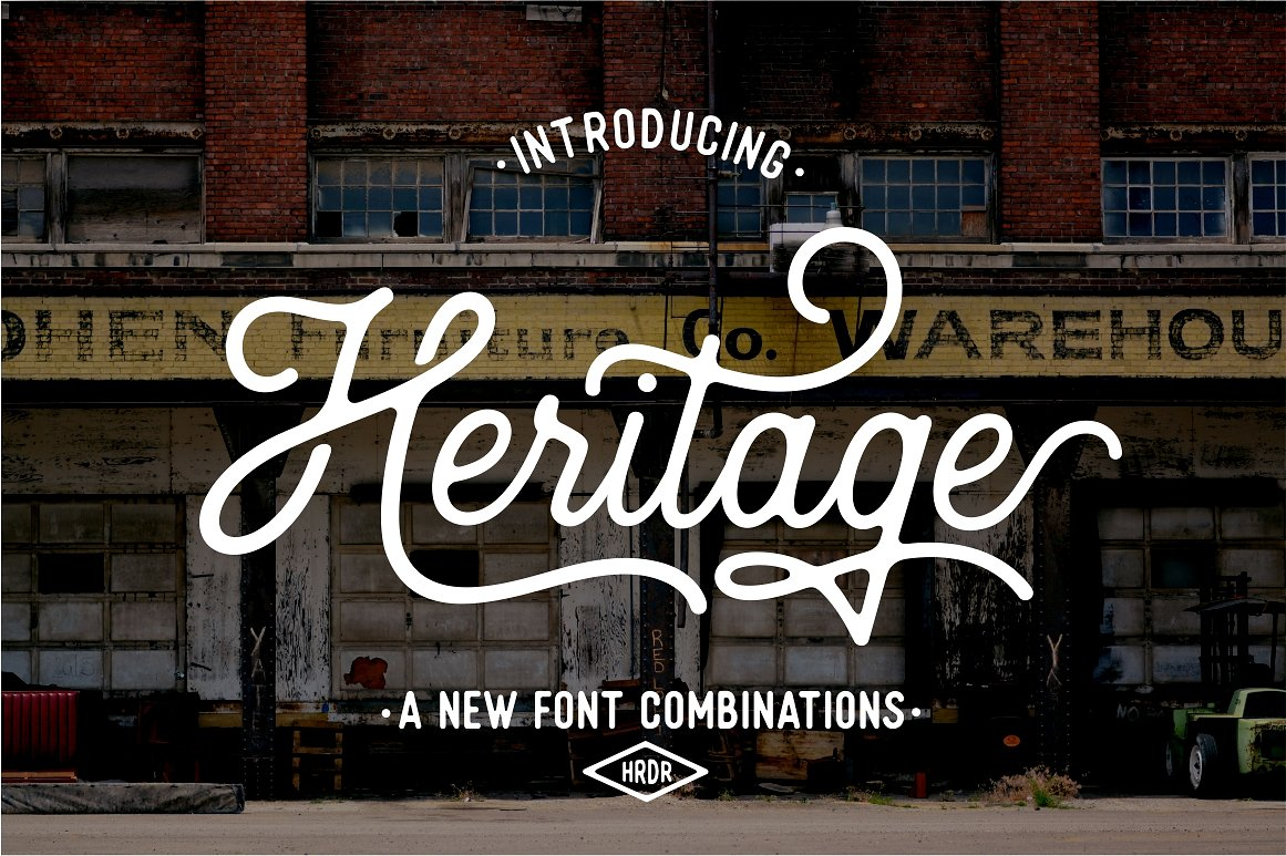 21. Heritage Font Combinations