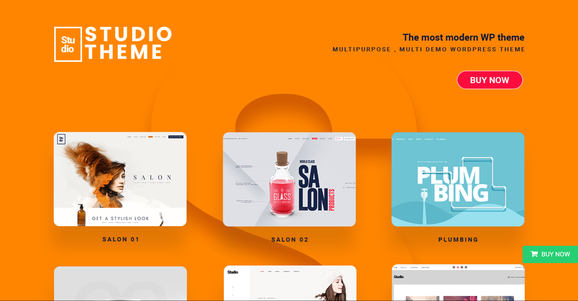 21. PrimeStudio A Creative WordPress Multipurpose Theme