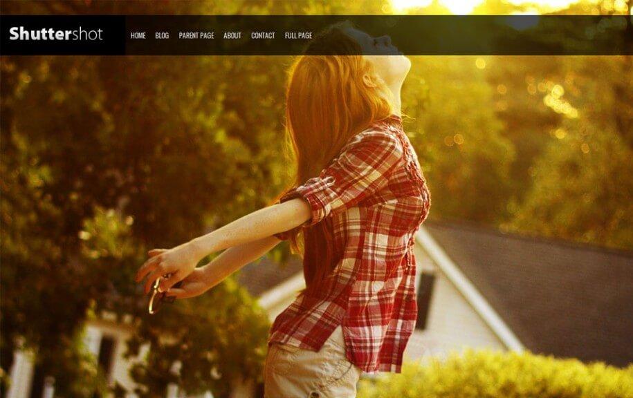 22 - Shuttershot Free Photography WordPress Theme