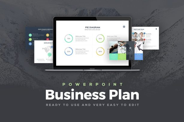22. Business Plan PowerPoint Template