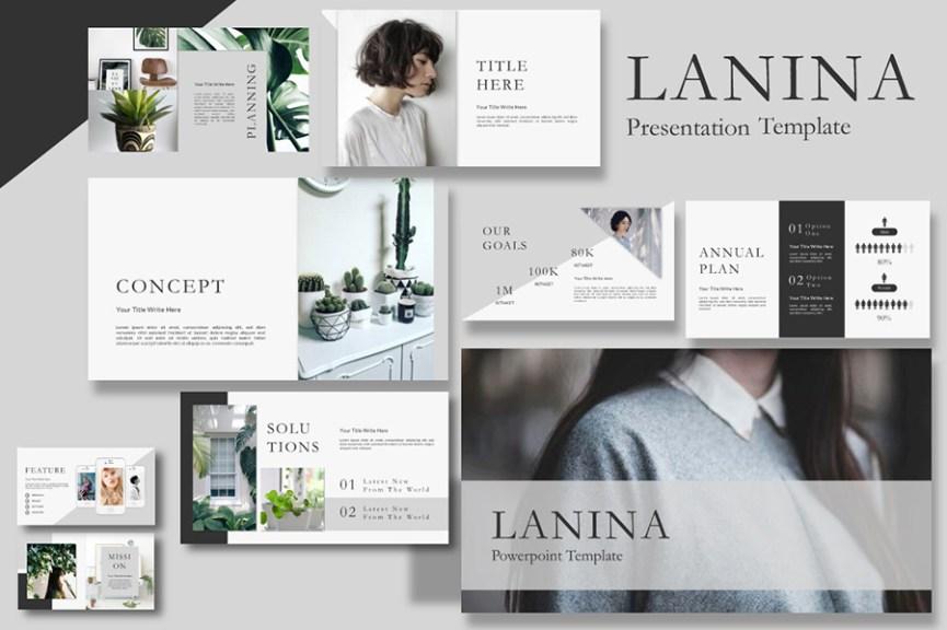 23 - Lalina Free Presentation Template