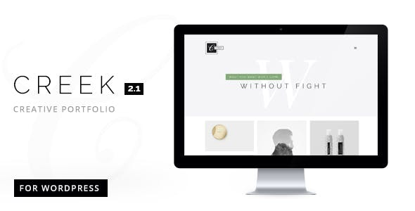 24 - Creek Creative and Minimal WordPress Portfolio