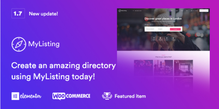 24 - MyListing Directory & Listing WordPress Theme