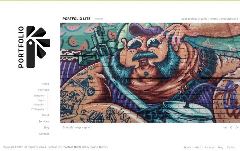 24 - Portfolio Lite Responsive WordPress Theme
