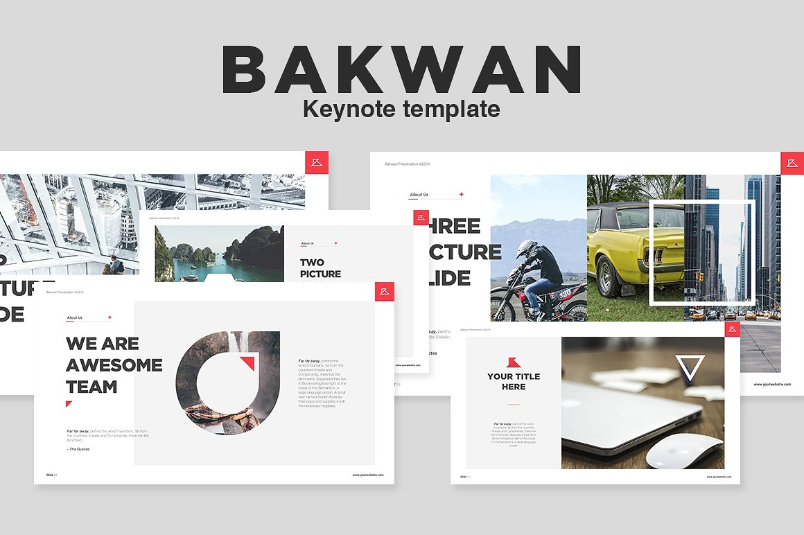 24. Bakwan Keynote Template