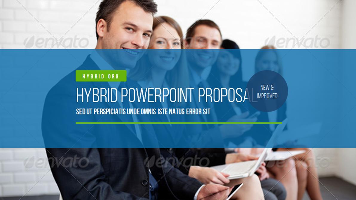 25. Hybrid PowerPoint Presentation