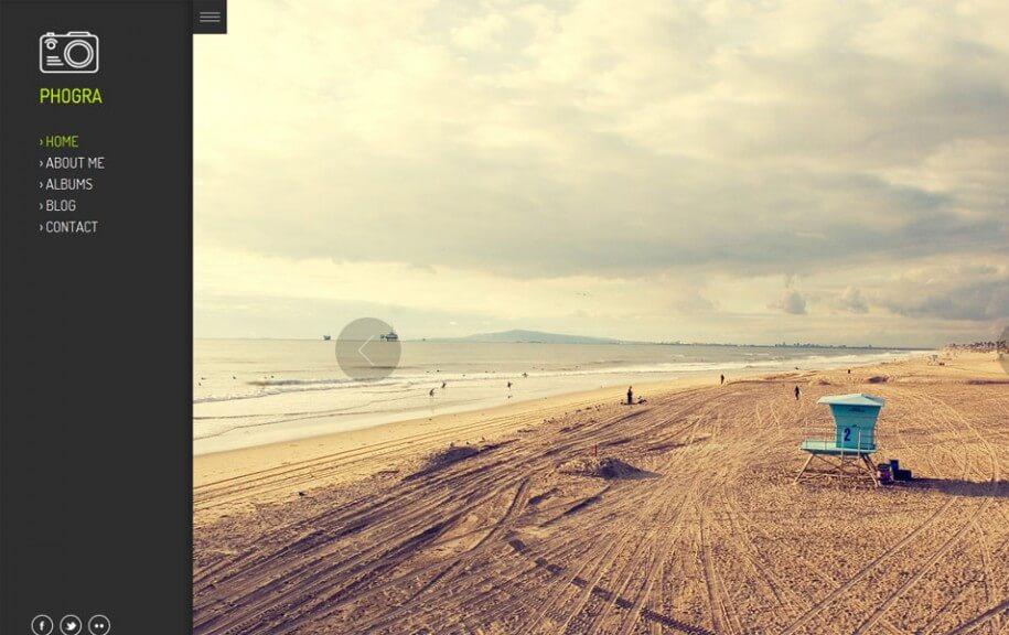 26 - Phogra Free Photography WordPress Theme