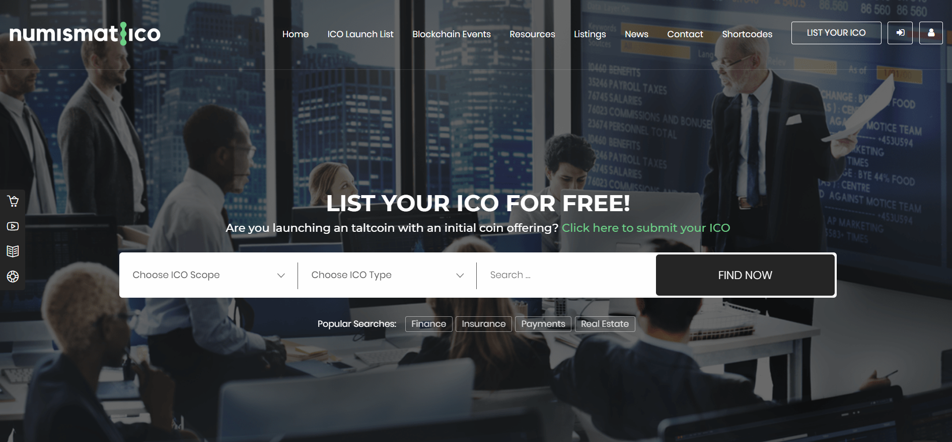 3. Numismatico - Crytocurrency Directory & Listings WordPress Theme