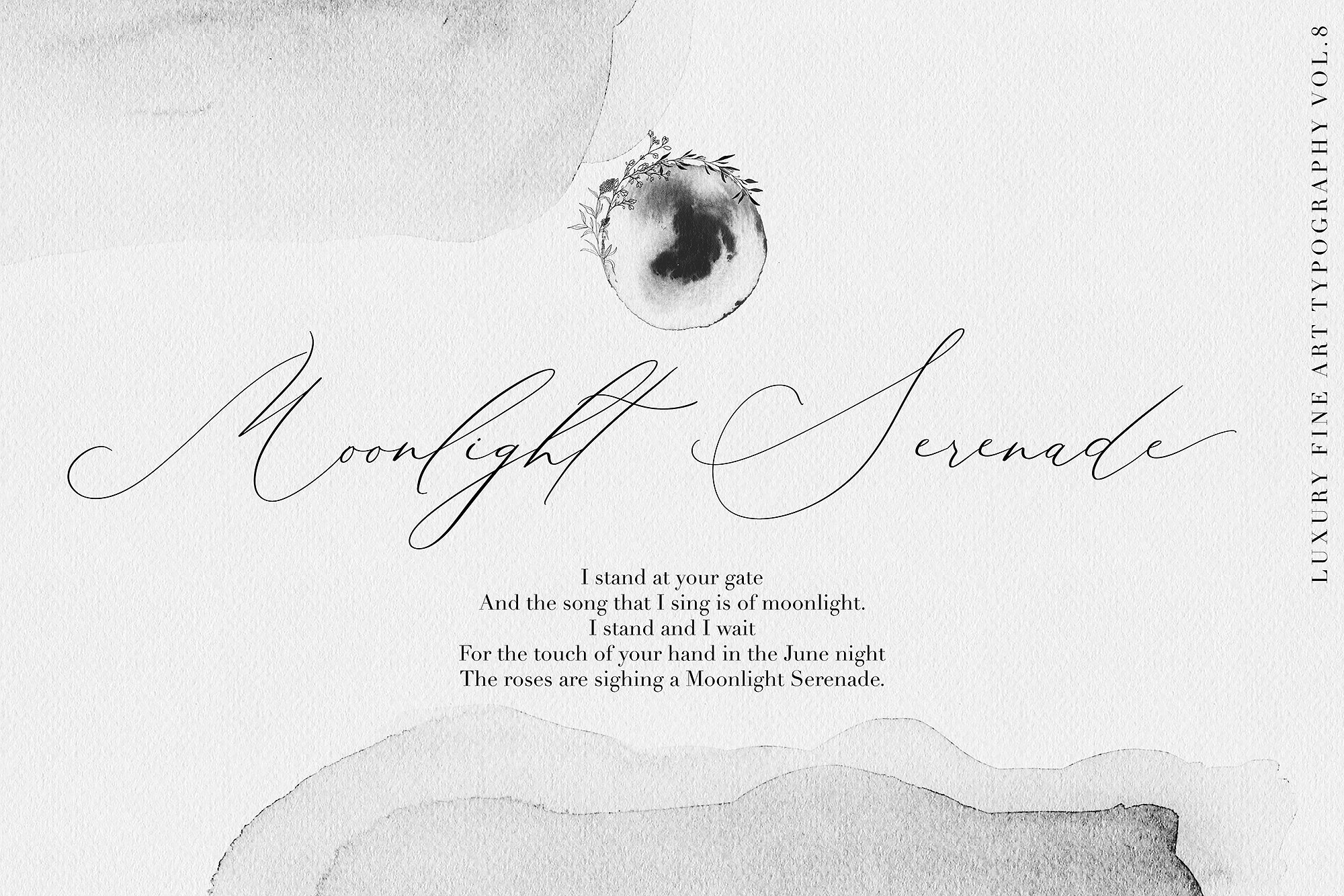 30. Beloved Gray - Fine Art Font