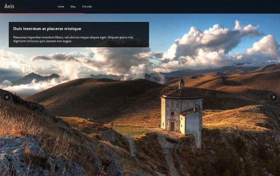 31 - Axis Free Photography WordPress Theme