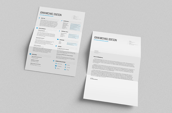 34. FREE Resume + Cover Letter