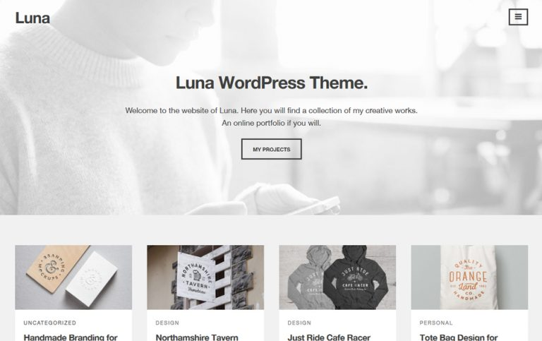 35 - Luna Responsive WordPress Theme