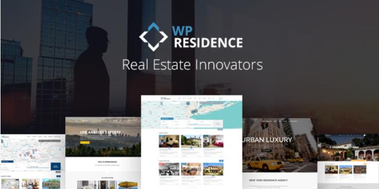 35 - Residence Real Estate WordPress Theme