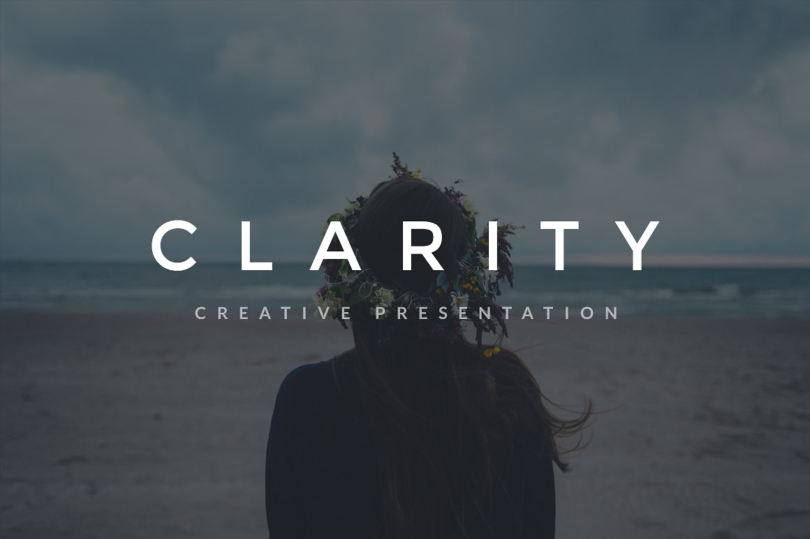 35. Clarity Keynote Template + A4