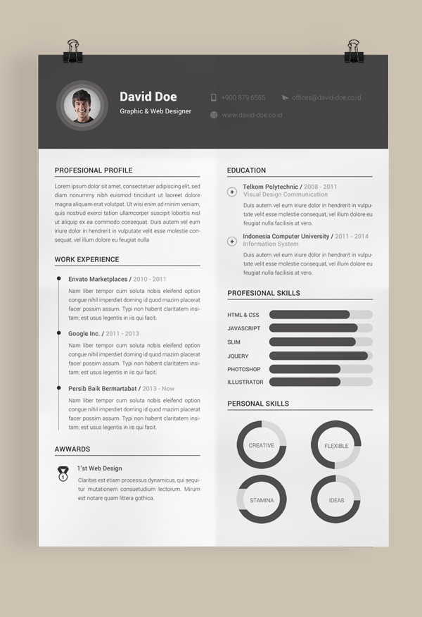 35. Free Resume Template