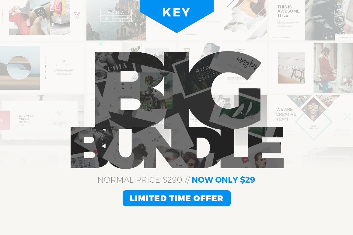 36. KEYNOTE BIG BUNDLE - 90% OFF