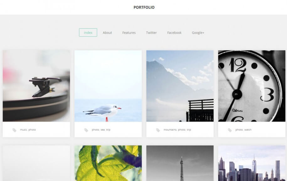 37 - Portfolio Free Photography WordPress Theme