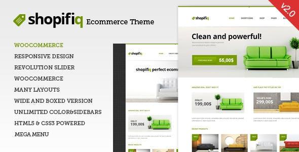 37 - Shopifiq - Responsive WordPress WooCommerce Theme