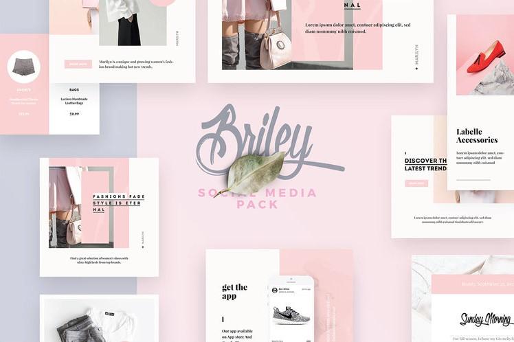 38. Briley Social Media Pack