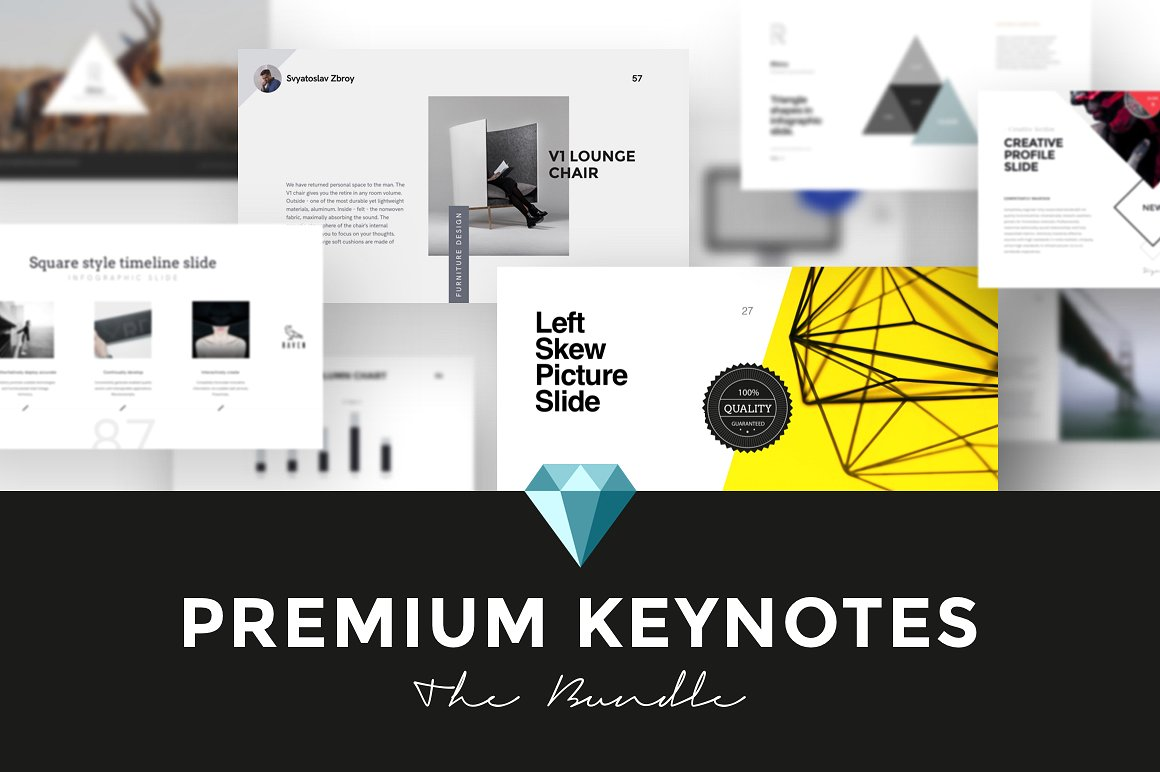 39. Premium Keynotes Presentation Bundle