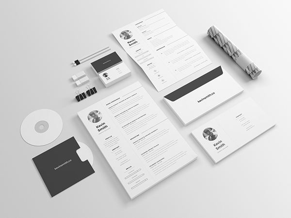 4 - Free Clean and Minimal Resume Template