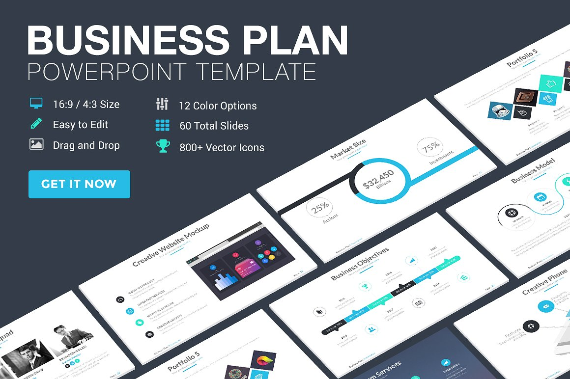 25 Great Business Plan Powerpoint Templates 2019