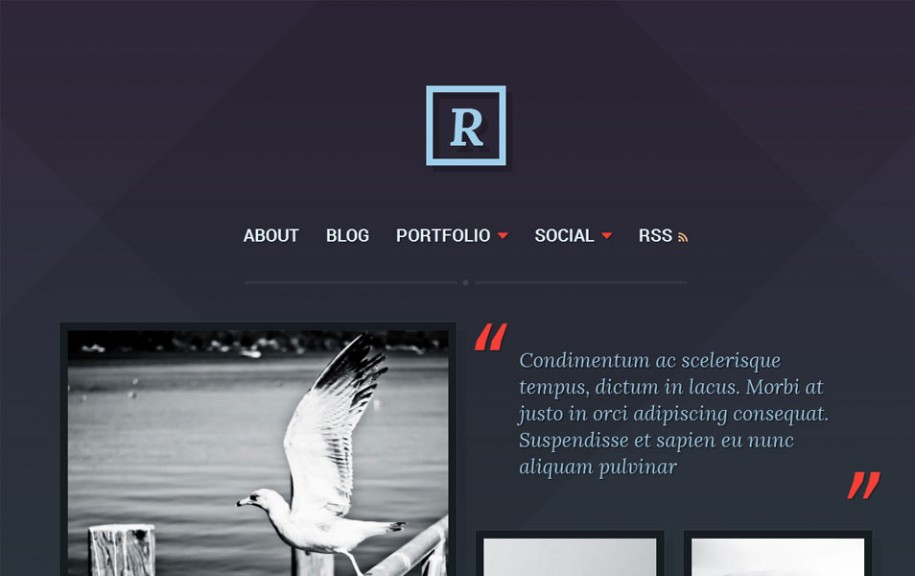 40 - Ravel Free Portfolio WordPress Theme