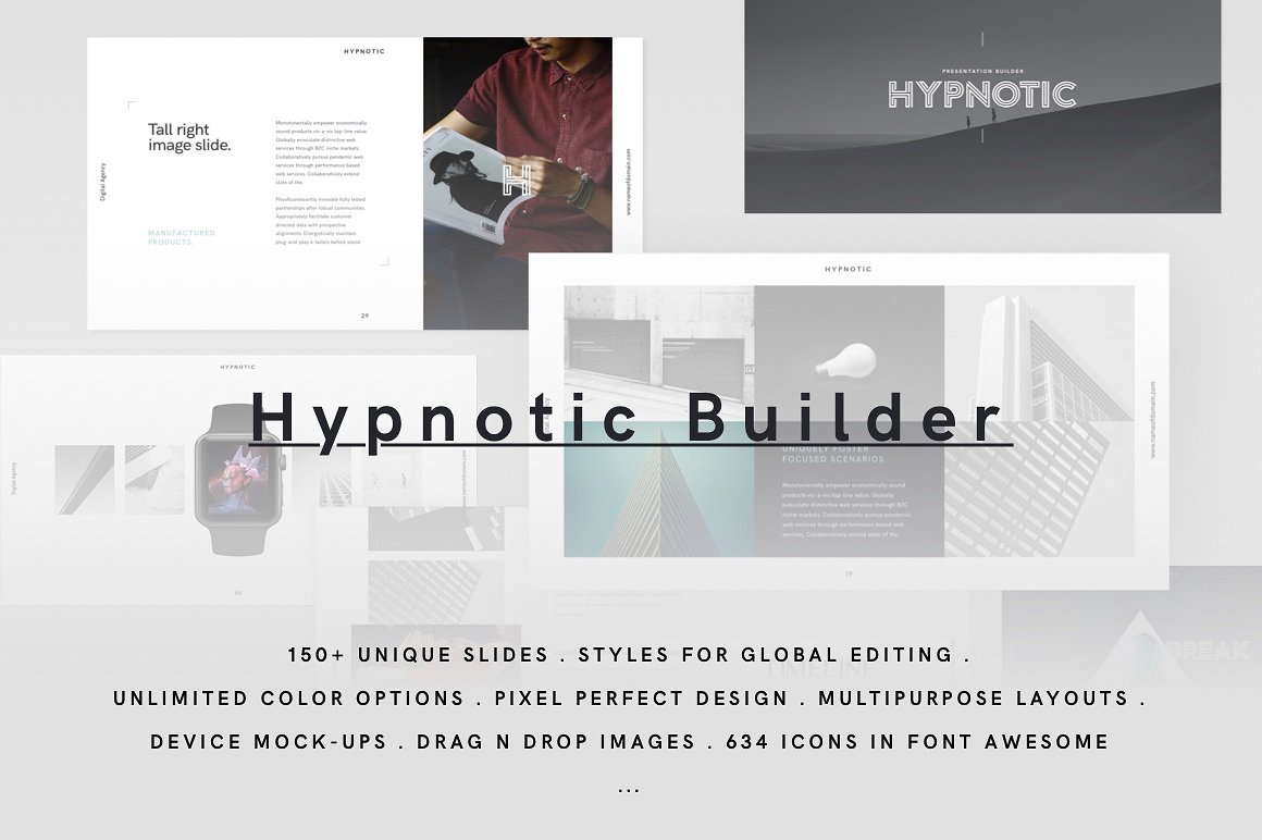 40. HYPNOTIC Keynote Presentation Theme