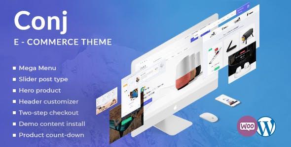 41 - Conj - eCommerce WordPress Theme