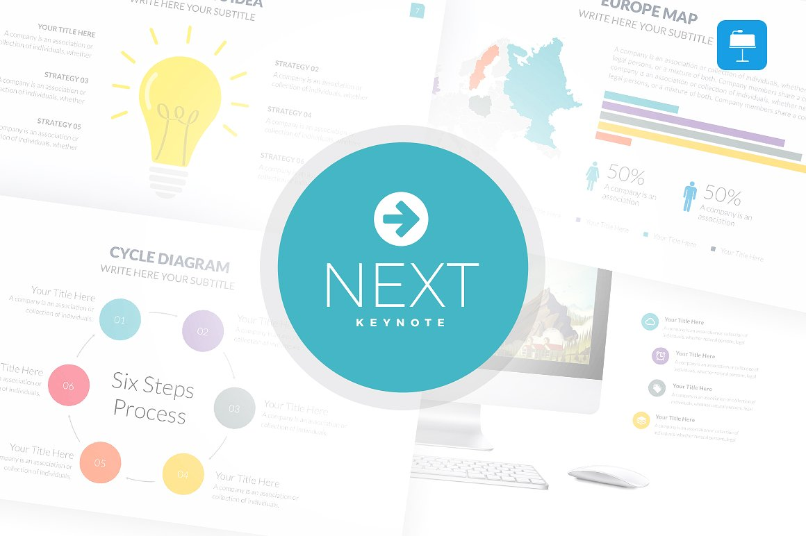 42. Next - Keynote Template