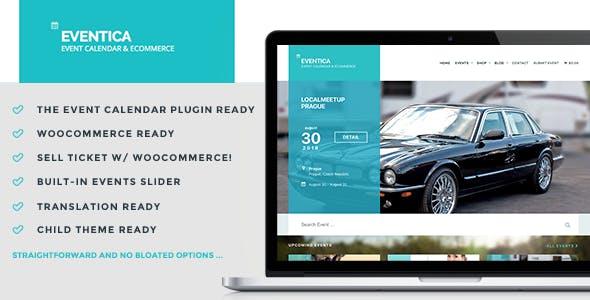 48 - Eventica - Event Calendar & Ecommerce WordPress Theme
