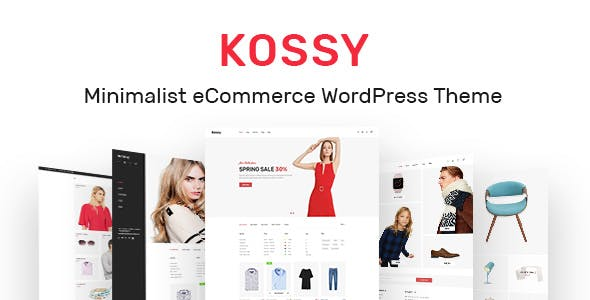 5 - Kossy - Minimalist eCommerce WordPress Theme