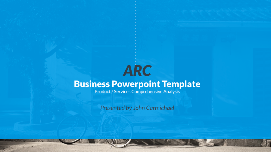 5. Business PowerPoint Template