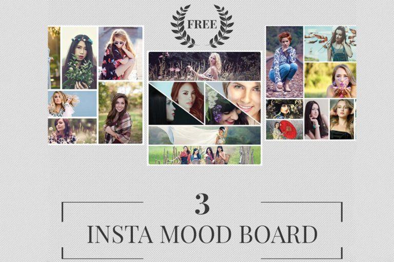 5. Free Instagram Mood Board Templates