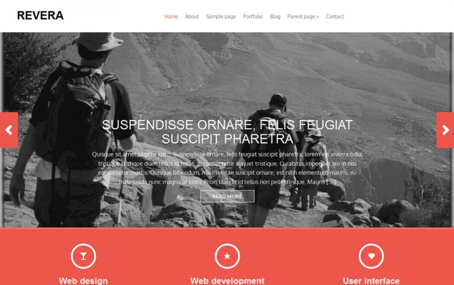 50 - Revera Free Photography WordPress Theme