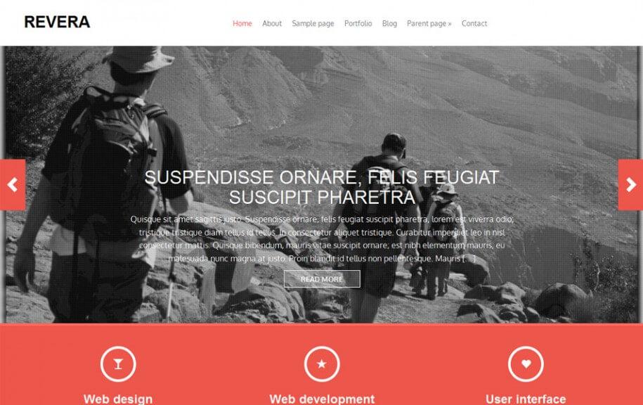 50 - Revera Free Photography WordPress Theme