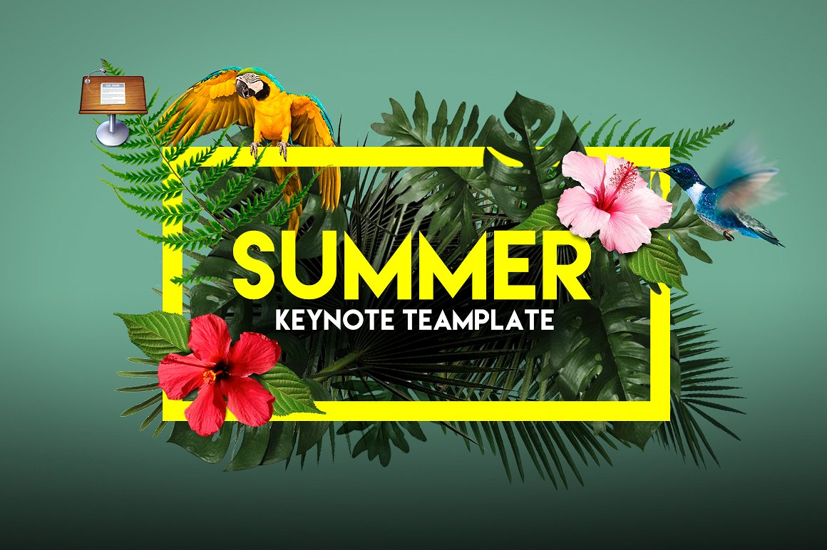 50. Summer Keynote Template