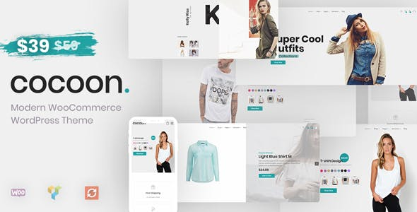 6 - Cocoon - Modern WooCommerce WordPress Theme
