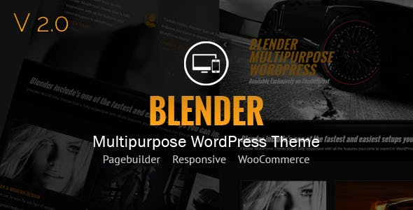 7 - Blender WordPress Portfolio Theme