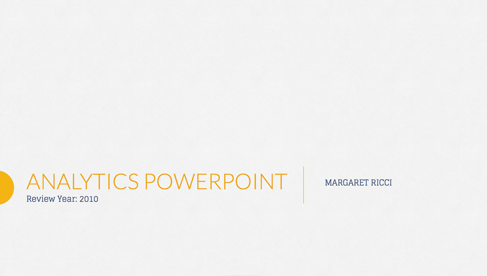 7. Analytix PowerPoint Presentation