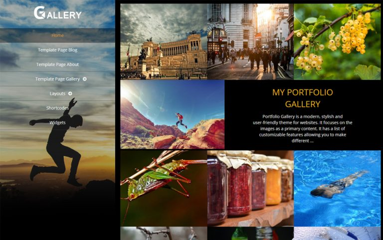 71 - Portfolio Gallery Responsive WordPress Theme