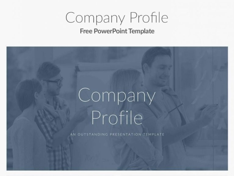 8 - Company Profile Free Google Slides
