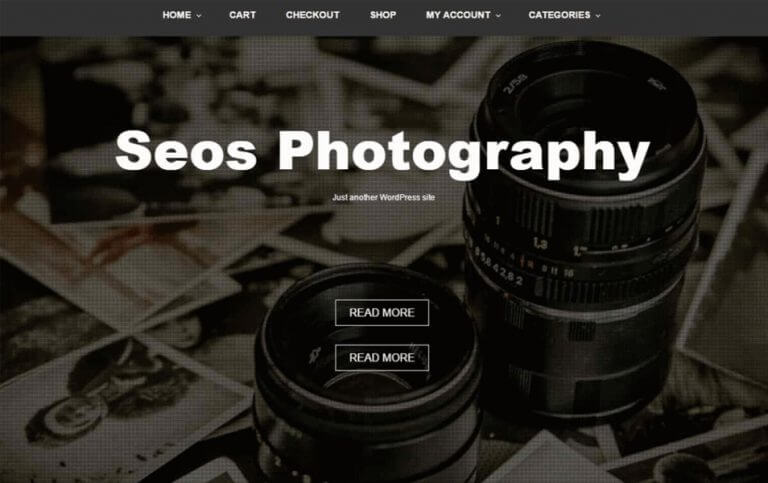 8 - Seos Photography Responsive WordPress Theme
