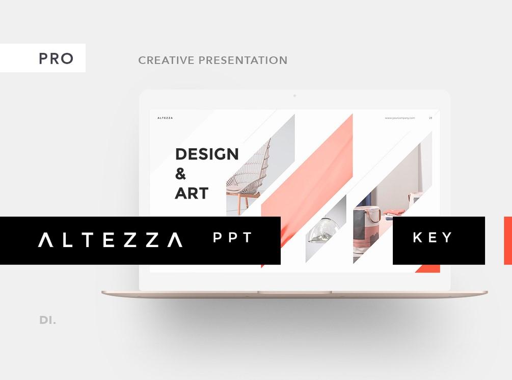 Altezza Free Presentation Template