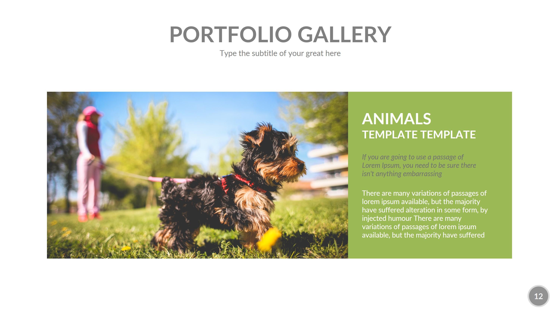 Animals PowerPoint Presentation Template