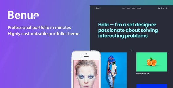 Benue - Portfolio for WordPress