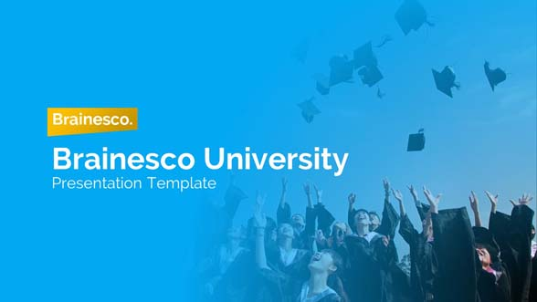 Brainesco Education PowerPoint Presentation Template 1